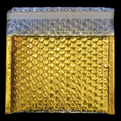 Luftpolsterumschlag Gold